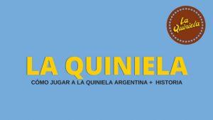 La Quiniela Argentina